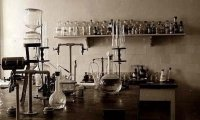 At Work in the Old Chemistry Lab